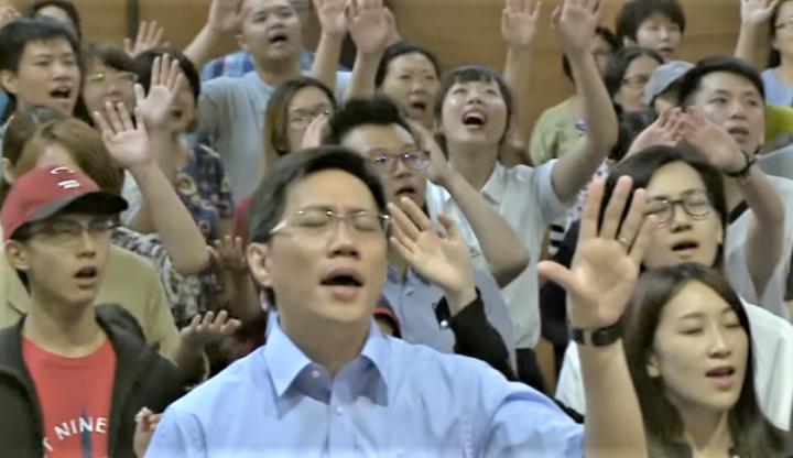 「全球40天禁食禱告」屆滿拓展華人屬靈視野。(圖:GoodTV 視頻擷圖)