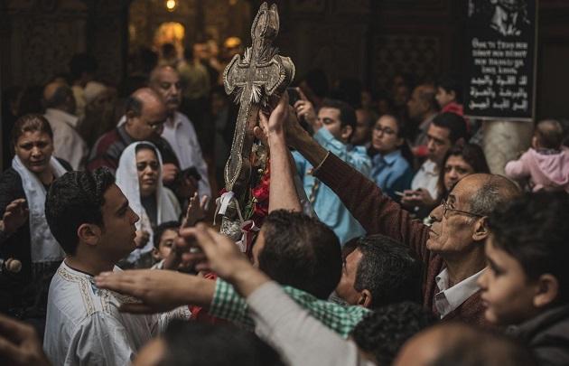 科普特基督徒的一次慶祝活動 (圖:Chaouye Pan)