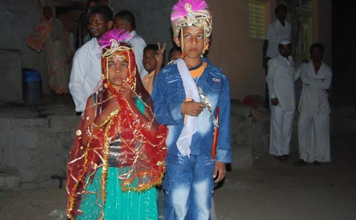 印度在童婚猖獗地區中排行13。(圖:Global Voices)