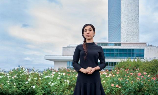 諾貝爾和平獎得主穆拉德。(圖:Glamour)