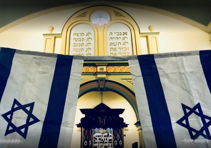 在香港的猶太教莉亞堂。(圖:google map)