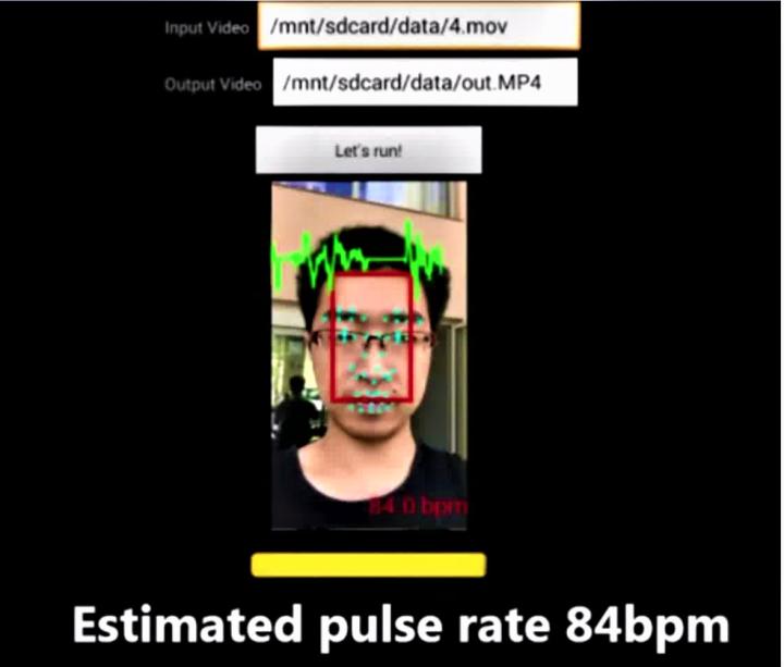臉部識別技術檢測長者心理及生理疾病情況,有否出現中風徵兆。(圖:香港科技大學提供)