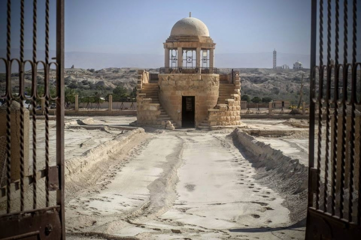 耶穌受洗地遺址三所教堂重新對外開放 (圖:HALO Trust臉書)