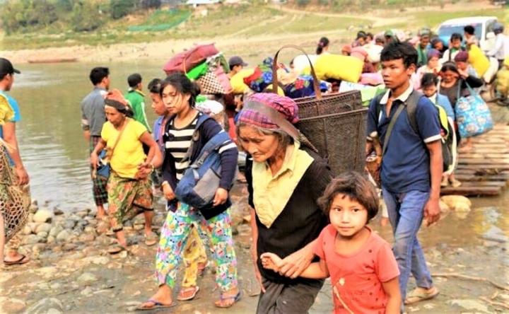 緬甸北部克欽族難民。(圖:Green Left Weekly)