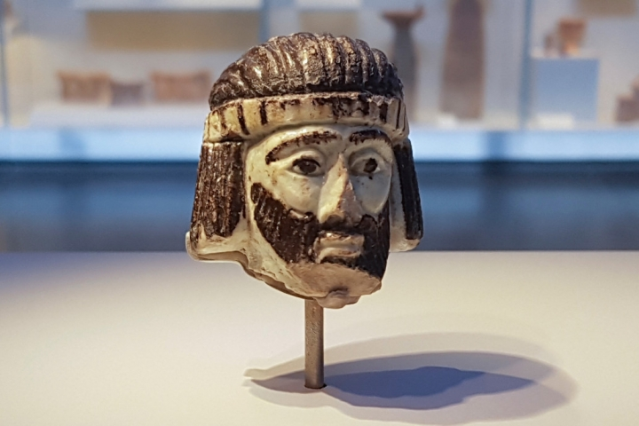 有三千年歷史的國王頭像 (圖: 美聯社  )