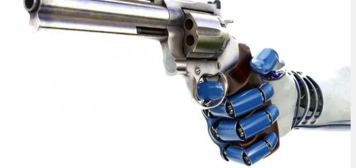 人工智能運算人管控暴力程度。(圖:網絡圖片)