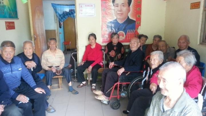 河南洛陽市老年護理院。(圖:養老天地網)