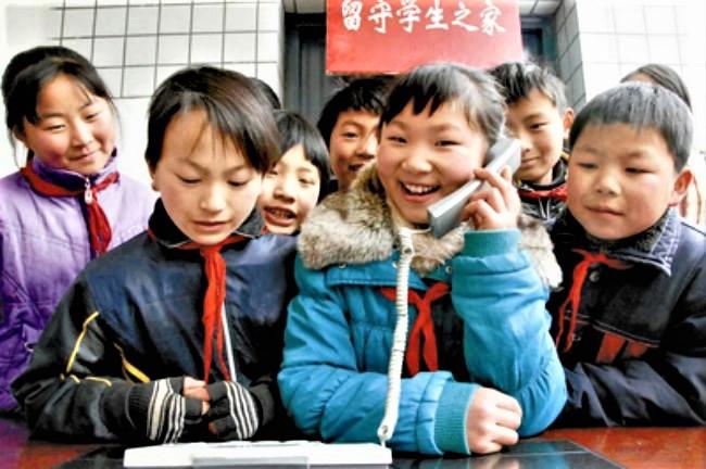 中國留守兒童。(圖:Sichuan Daily)