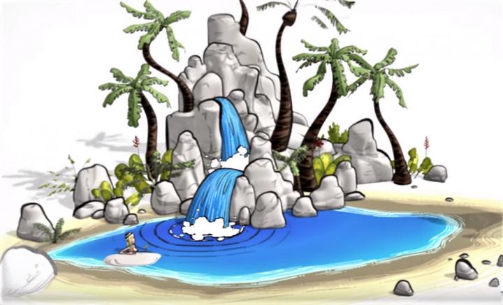 奧德賽動畫《水源》。(圖:《水源》youtube 擷圖)