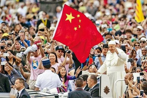 教宗訪問中國。(圖:網絡圖片)