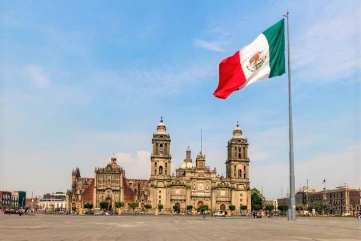 墨西哥天主教堂。(圖:網絡圖片)