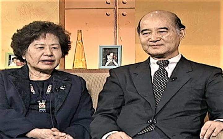 高俊明牧師與師母李麗珍。(圖:GoodTV視頻擷圖)