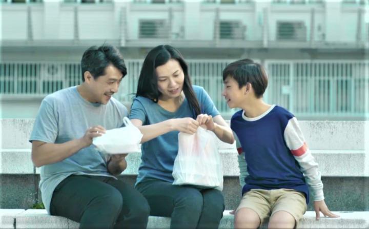 繼父母關係良好有助子女融入新家庭。(圖:香港公教婚姻輔會短片擷圖)