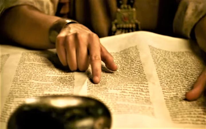 約西亞獲摩西律法書定意改革國家屬靈的頹勢。(圖:視頻擷圖)