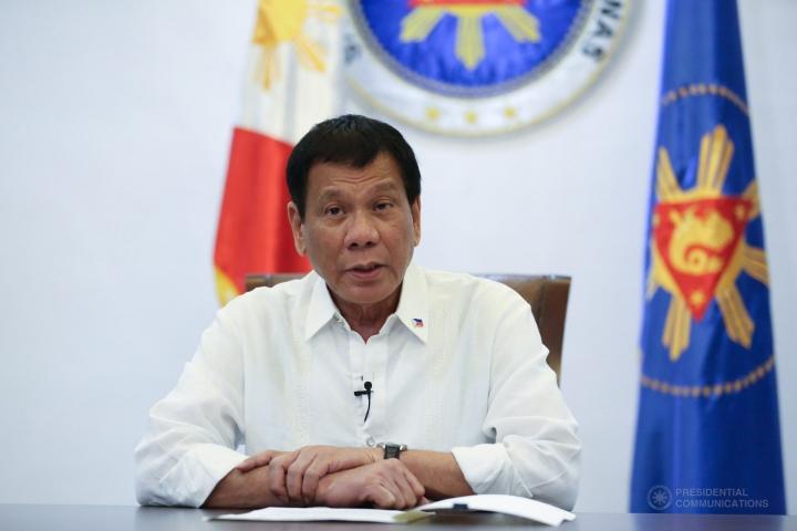 菲律賓總統杜特爾特。(圖:PCOO)