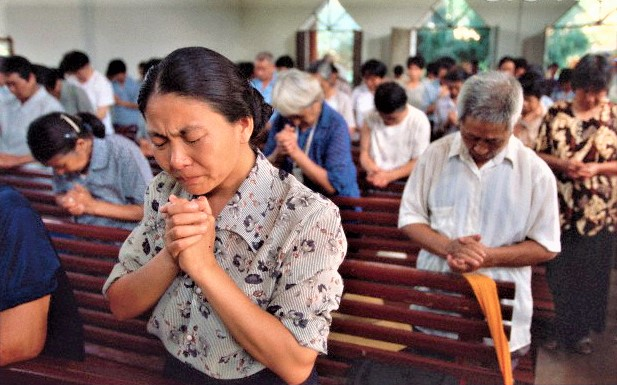 中國基督徒每年增長率10.86%