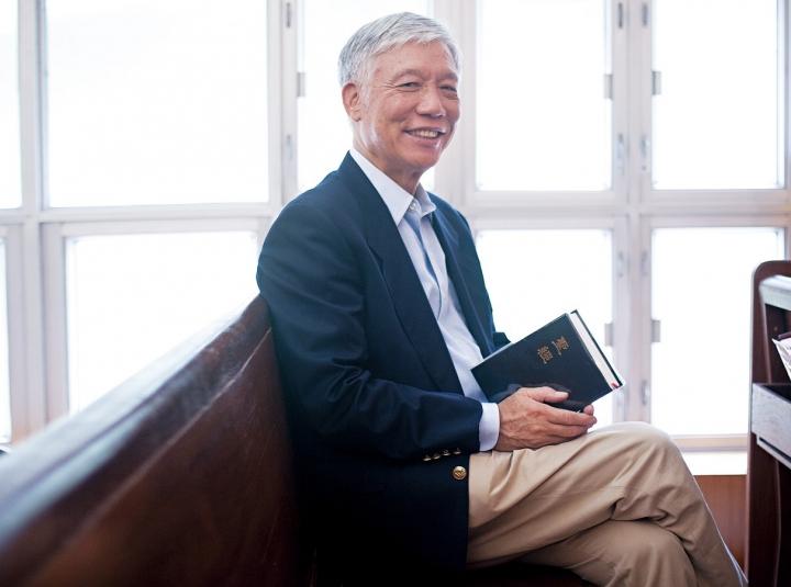 朱耀明牧師。(圖:柴灣浸信會網站)