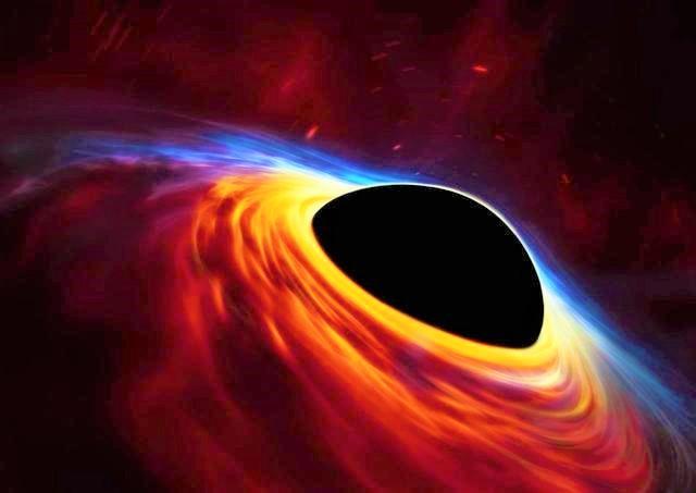人類首次透過視界望遠鏡捕獲黑洞真實面貌。(圖:網絡圖片)