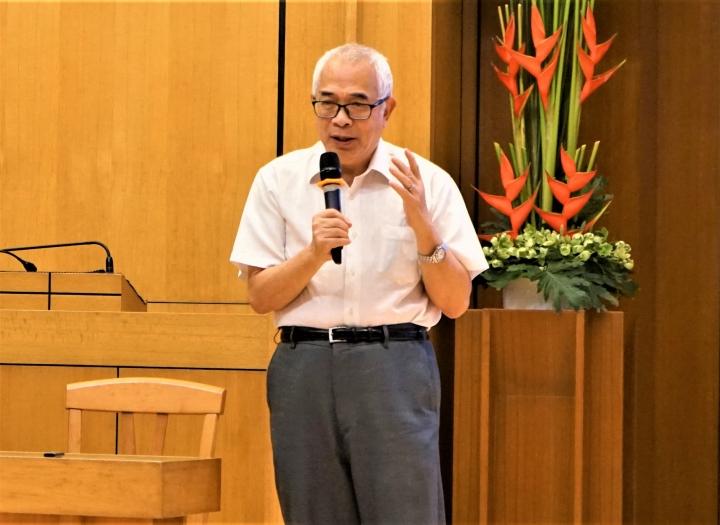 程翔相信中國民主星火不滅。(圖:基督日報)