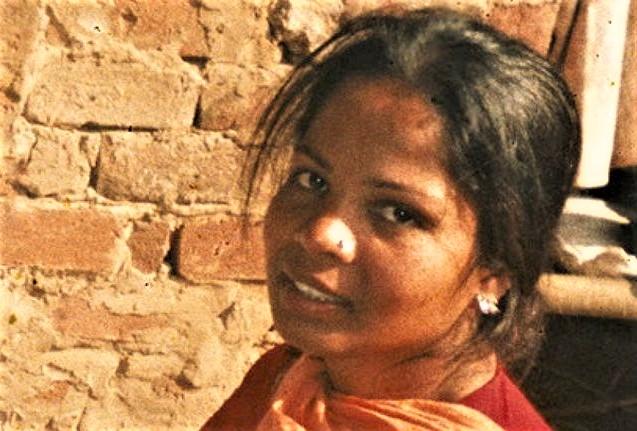 阿西亞·比比(Asia Bibi)獲巴基斯坦最高法院批准離國。(圖:Sky News)