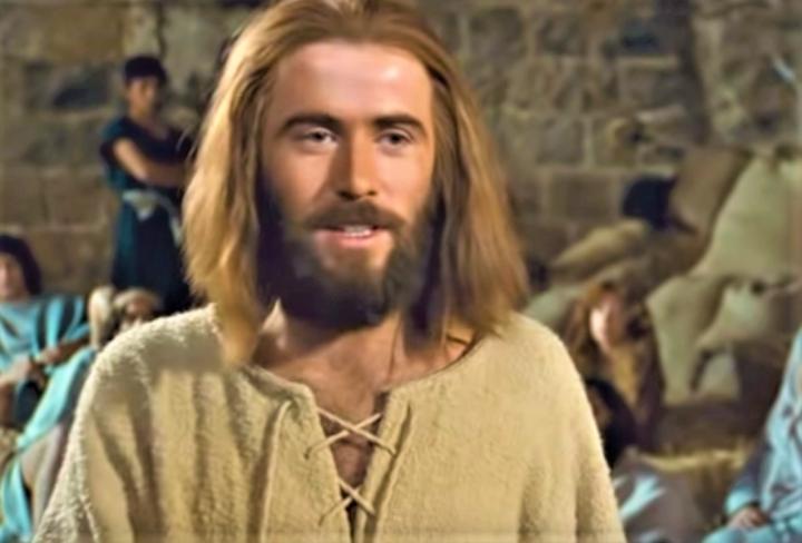 《耶穌傳》的耶穌。(圖:《耶穌傳》視頻擷圖)