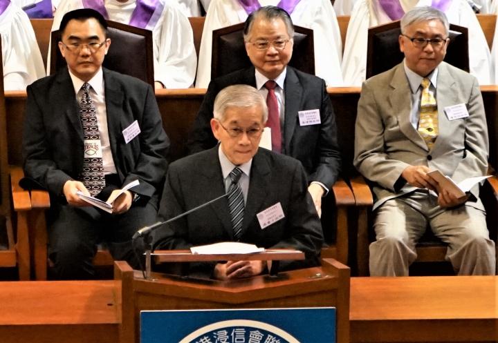 浸信會聯會會長羅慶才牧師。(圖:基督日報)