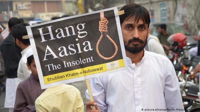 阿西亞·比比去年10月獲釋放,伊斯蘭激進分子揚言向她問吊(圖:Pacific Press)