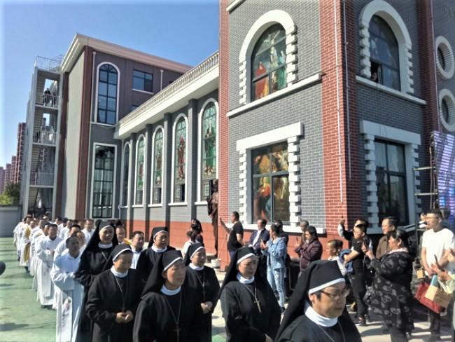 河北省耶穌聖心堂。(圖:天主教小助手網)