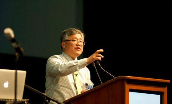 北京錫安教會創辧人金明日牧師。金明日牧師(圖:美東華人差傳大會資料圖片)