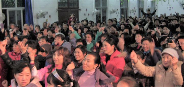 中國家庭教會在政府嚴控下繼續舉行聚會。(圖:網絡圖片)