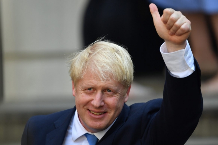 英國首相約翰遜。(圖:網絡圖片)