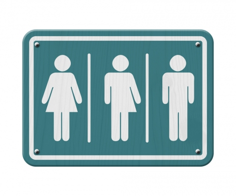 北卡羅萊納州美國法院裁定跨性別者使用男或女廁。(圖:網絡圖片)