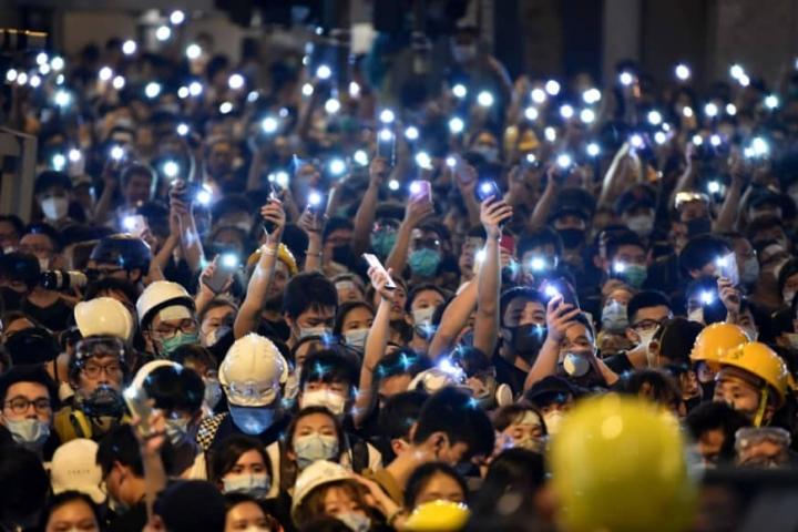 香港浸信會牧師蔡少琪,指出香港政局張力的核心背後是美中國的左傾路線及全方位的權威有極大的憂慮,認為香港此刻需要美好的願景,走出困局。(圖:網絡)