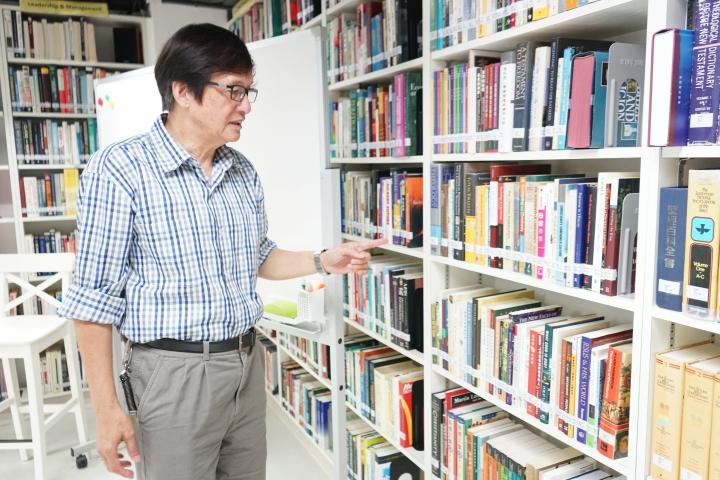 梁永泰指年青人博古通今為未來承擔領袖充實自己。(圖:基督日報)