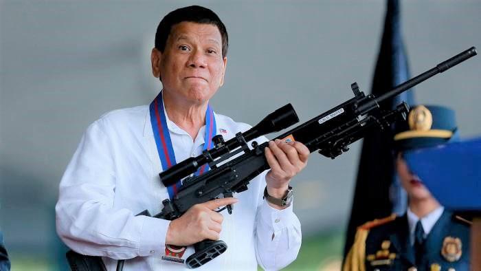 菲律賓總統杜特爾特。(圖:Financial Times)