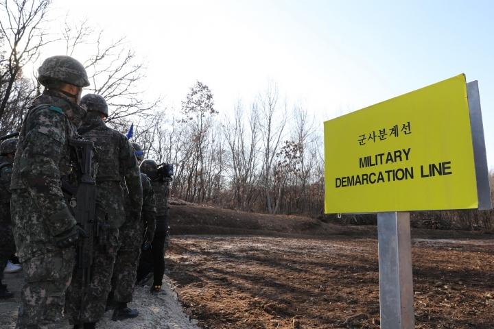 韓朝非軍事區。(圖:視覺中國)