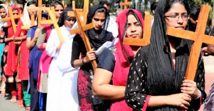印度基督徒。(圖:Vatican News)