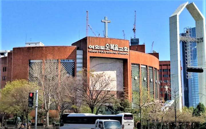韓國汝矣島純福音教會。(圖:google map)