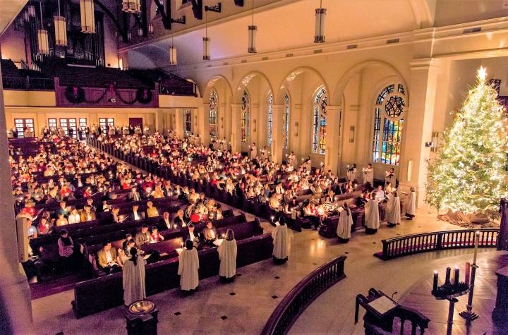 聯合衛理公會聖誕合一崇拜。(圖:United Methodist Church)
