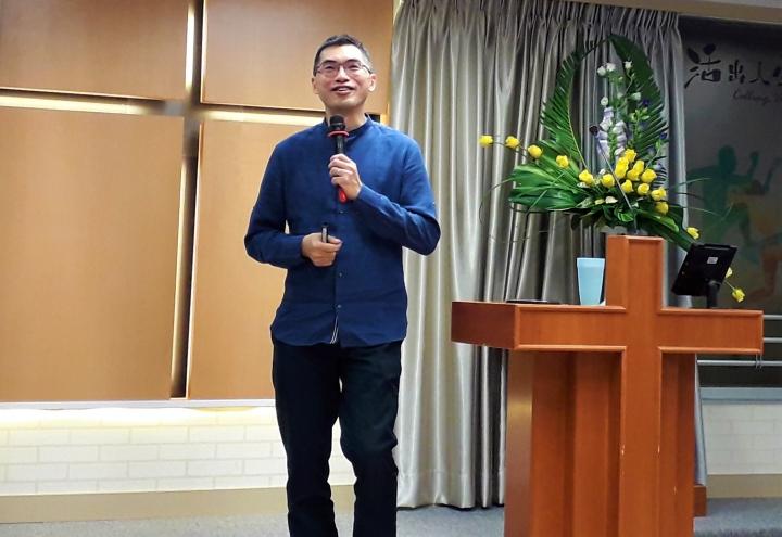 香港中文大學崇基神學院院長邢福增。(圖:基督日報)
