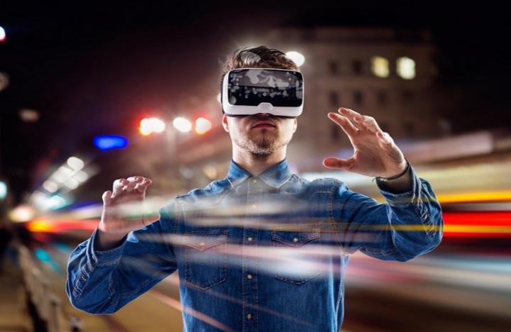 擴增實境技術虛擬現實合體。(圖:網絡圖片)