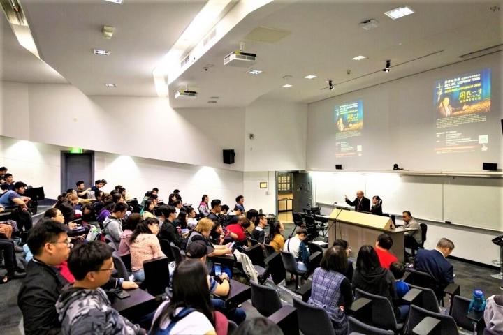 唐崇榮牧師在阿德萊德舉行大學講座。(圖:唐崇榮牧師澳紐佈道會臉書)