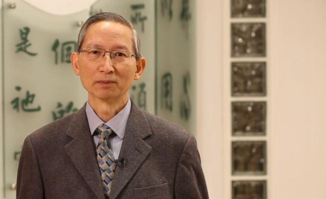 蕭壽華牧師(視頻截圖)