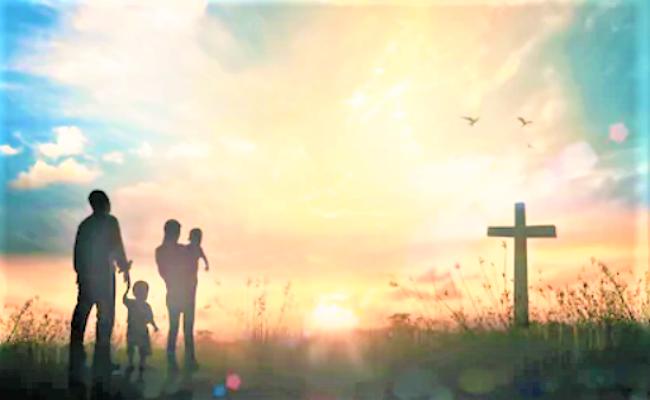 當信主耶穌,你和你一家都必得救。(圖:Shutterstock)