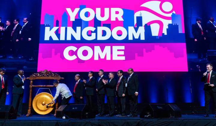 世界福音聯盟聯合大會,主題為「祢的國降臨」。(圖:世界福音聯盟臉書)
