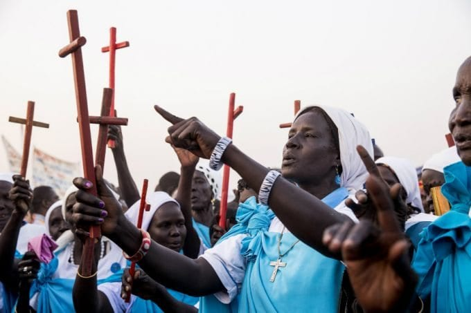 蘇丹天主教徒。(圖:crux.com)