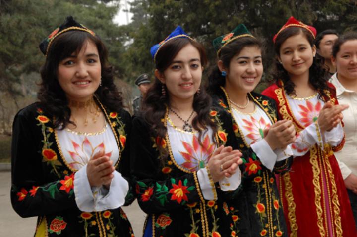 維吾爾族少女。(圖:中國民族文化資源庫)