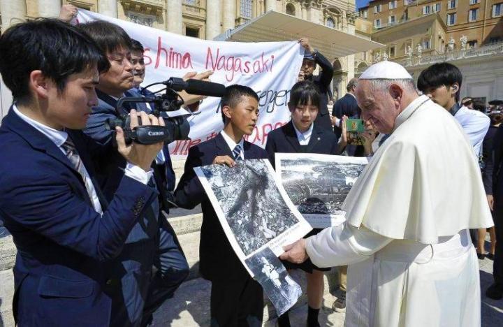 教宗方濟各將於本月23至26日訪問日本。(圖:asianews)