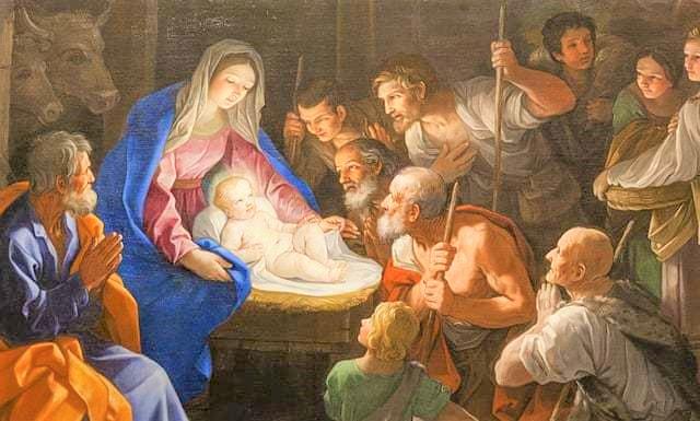 聖嬰耶穌。(圖:網絡圖片)