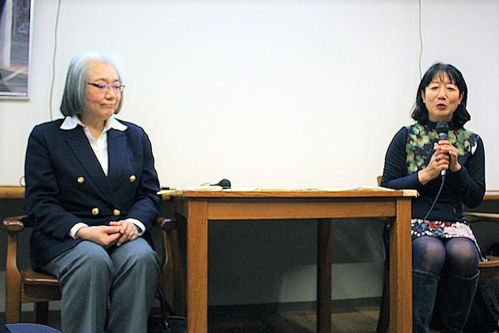 松永美穗[右]、佐藤裕子[左]。(圖:Christian Press)